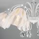Фото №4 Потолочная люстра со стеклянными плафонами 30155/8 белый