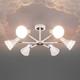Фото №5 Потолочная люстра в стиле лофт 70100/6 белый