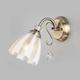 Фото №2 Настенный светильник 30155/1 античная бронза