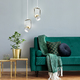 Фото №5 Подвесной светодиодный светильник с поворотным плафоном 50165/1 LED золото/белый