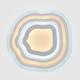 Фото №7 Потолочный светодиодный светильник с пультом управления 90119/4 белый