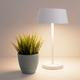 Фото №5 Светодиодная настольная лампа с сенсорным управлением 80424/1 белый