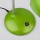 Фото №3 Зеленая настольная лампа 1926  зеленый