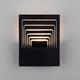 Фото №3 Onda LED чёрный  настенный светодиодный светильник MRL LED 1024