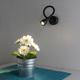 Фото №3 KORD LED черный настенный светодиодный светильник MRL LED 1030