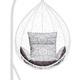 Фото №4 Подушка комбинированная со спинкой и подлокотниками для подвесного кресла