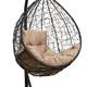 Фото №4 Подвесное кресло-кокон SEVILLA COMFORT черное + каркас