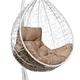 Фото №5 Подвесное кресло-кокон SEVILLA COMFORT белое + каркас