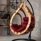 Фото №4 Подвесное кресло-кокон SEMERA  цвет Тик