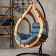 Фото №2 Подвесное кресло-кокон SEMERA  цвет Тик
