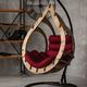 Фото №2 Подвесное кресло-кокон SEMERA цвет Орех