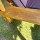 Фото №4 Садовые четырехместные деревянные качели ЛАРИКС 4.0 лиственница, с матрасом