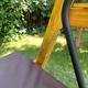 Фото №8 Садовые четырехместные деревянные качели ЛАРИКС 4.0 лиственница, с матрасом